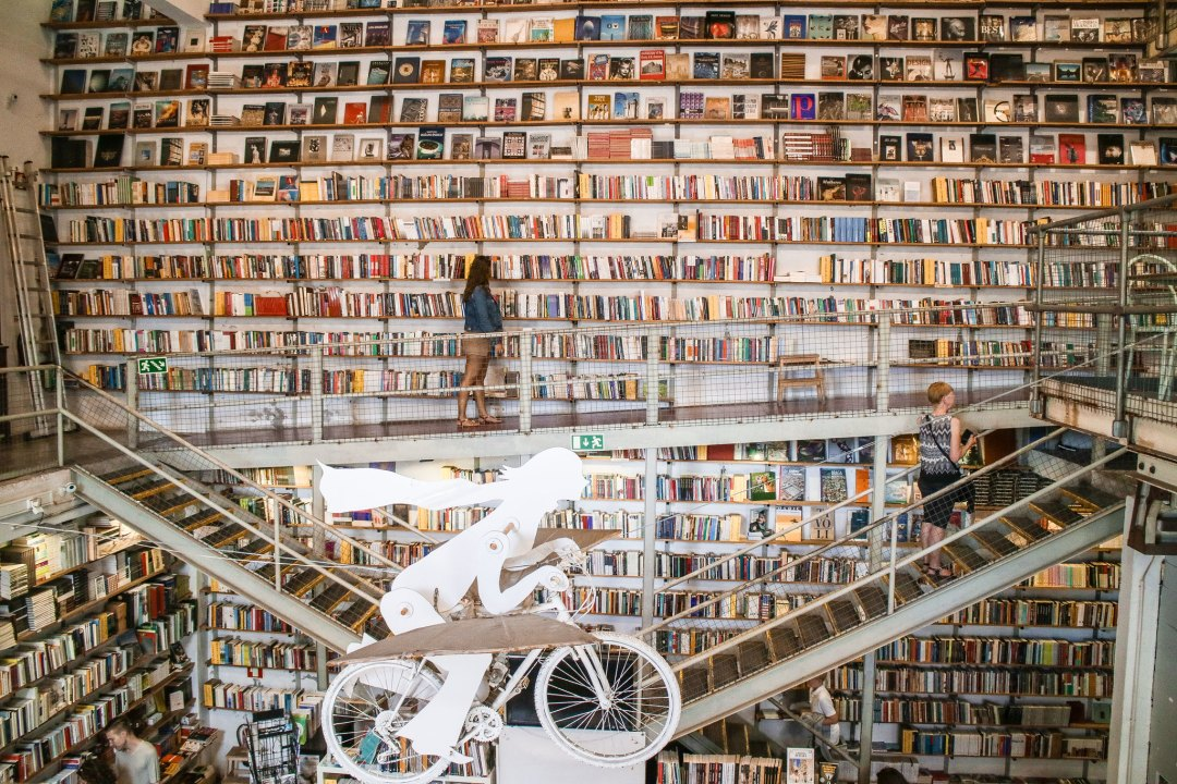 Livraria Ler Devagar, LX Factory, Lisbon
