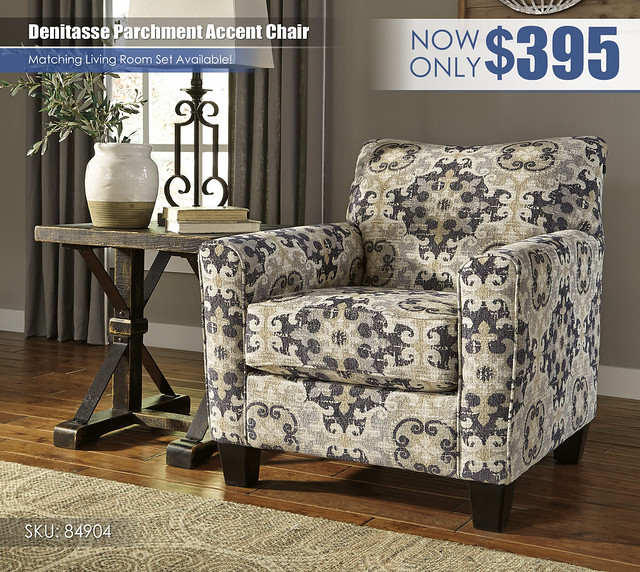 Denitasse Parchment Accent Chair_84904-21