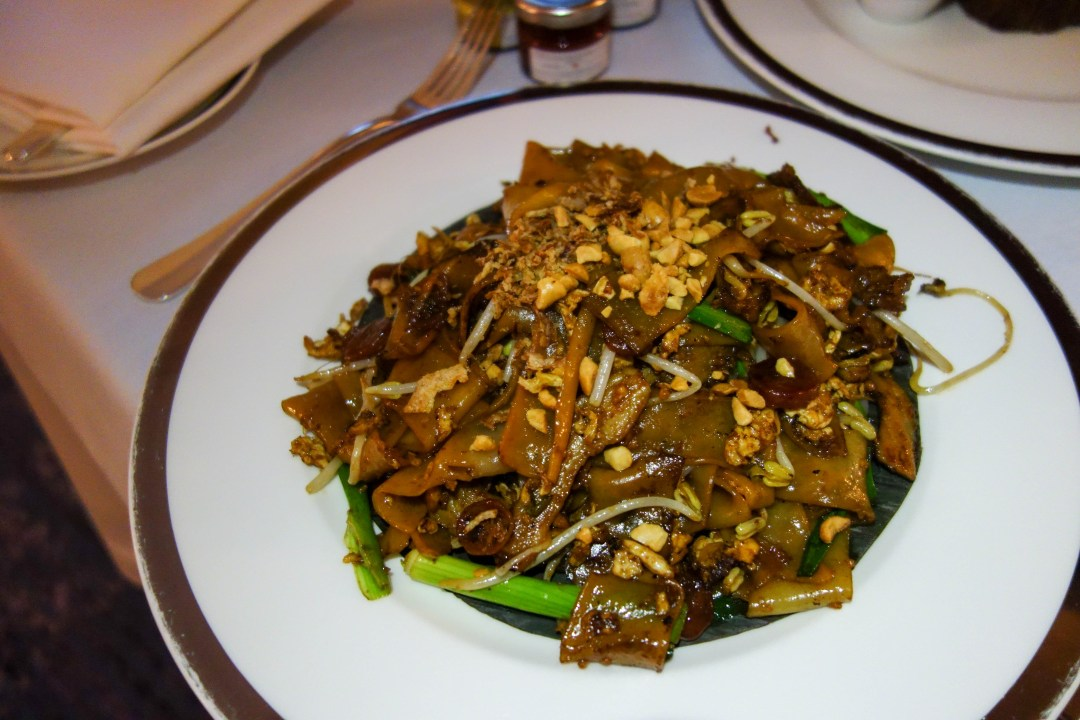 Wok fried noodles with beef