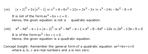 NCERT Solutions for Class 10 Maths Chapter 4 Quadratic Equations 2