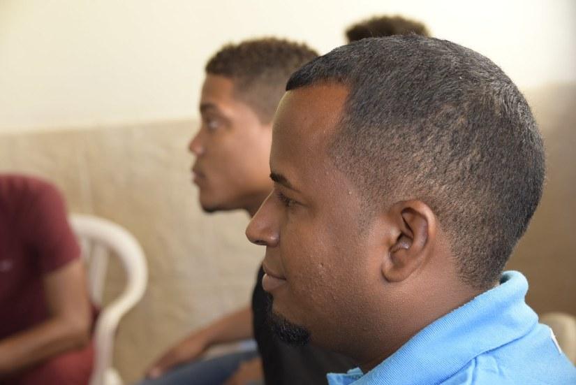 Reunión con jóvenes en política en la casa de Luis Estrella, Río San Juan 3 agosto 2018