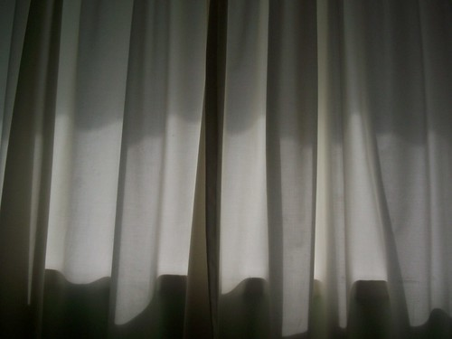 curtains, 9 pm
