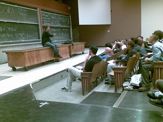 The college lecture