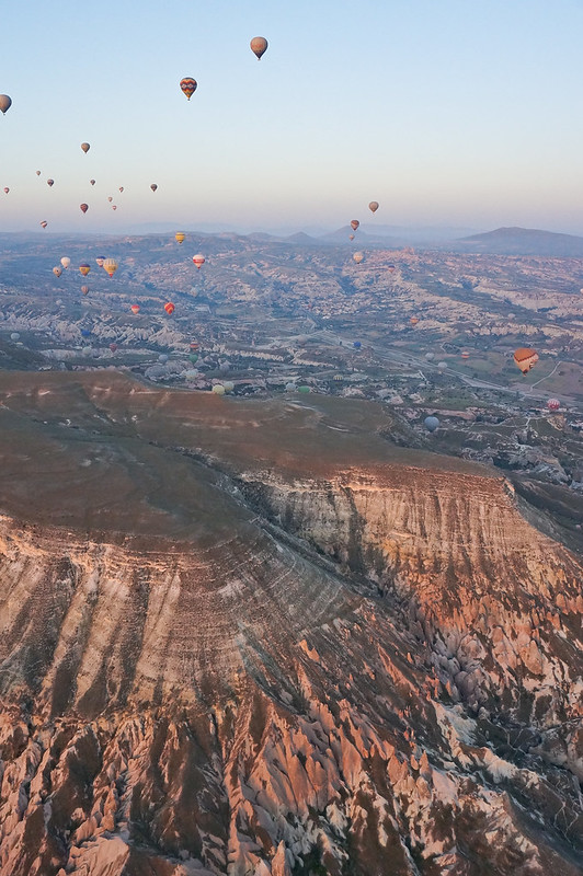 hot air ballooning in cappadocia