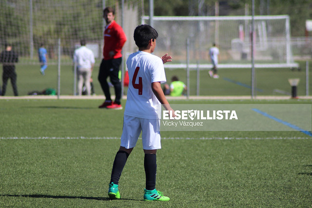 Sevilla FC - Coria CF (2ª Andaluza Benjamín)