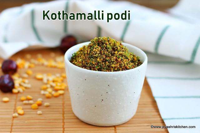 Kothamalli-podi
