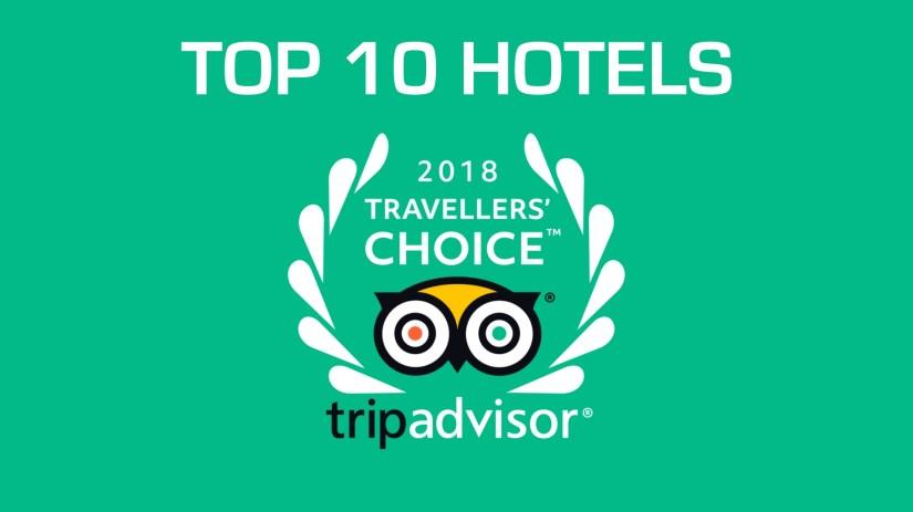 TripAdvisor Traveller's Choice® Awards 2018 For Hotels