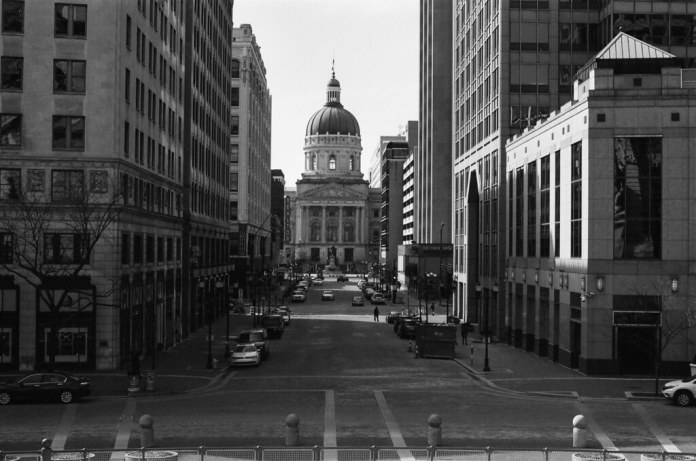 Market St. toward the Statehouse