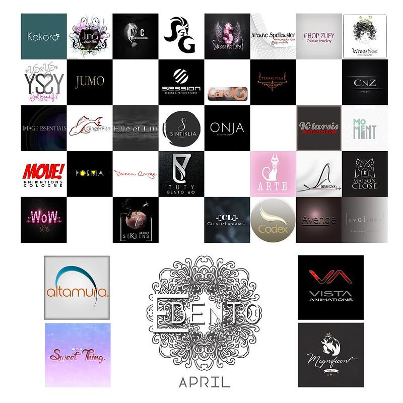 eBENTO April Round Brands