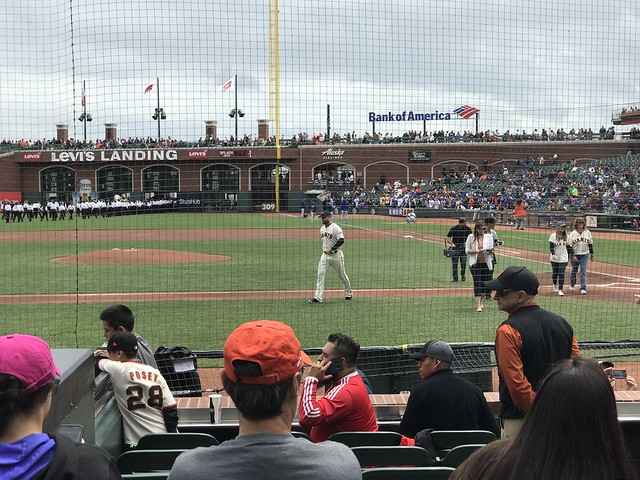 Giants v Dodgers 04-28-18