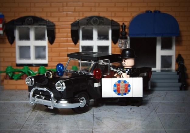 Lego 1955 Buick Century - Highway Patrol