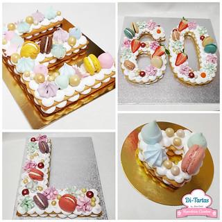 letter number cake2