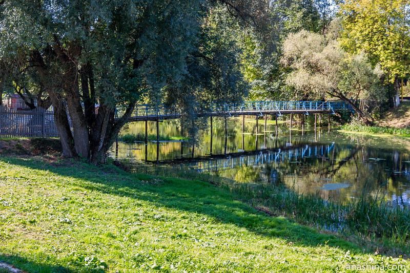 Пешеходный мост, Полотняный Завод