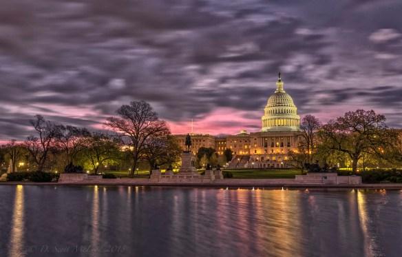 US Capitol Dawn 042418
