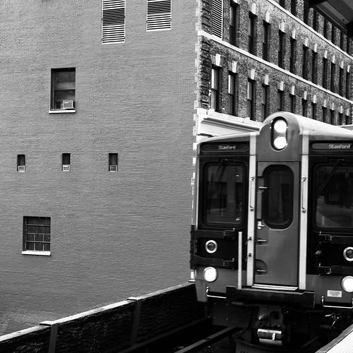 Train in Harlem by DJ Lanphier