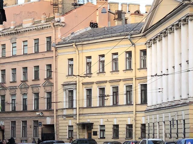 Прогулка по Санкт-Петербургу 10 апреля 2018
