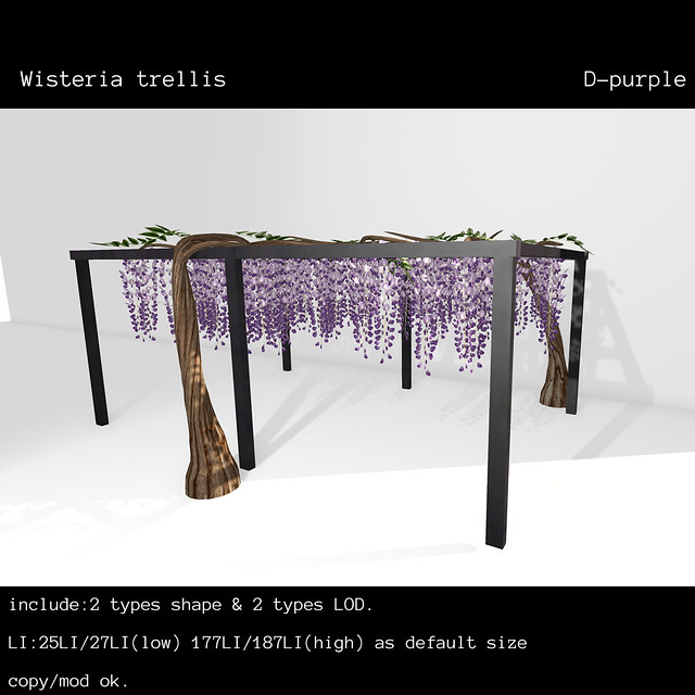 *NAMINOKE*Wisteria Trellis Dppl RFL for FF18