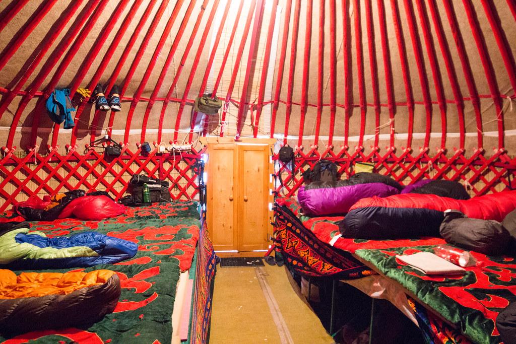 Ak-Suu yurts