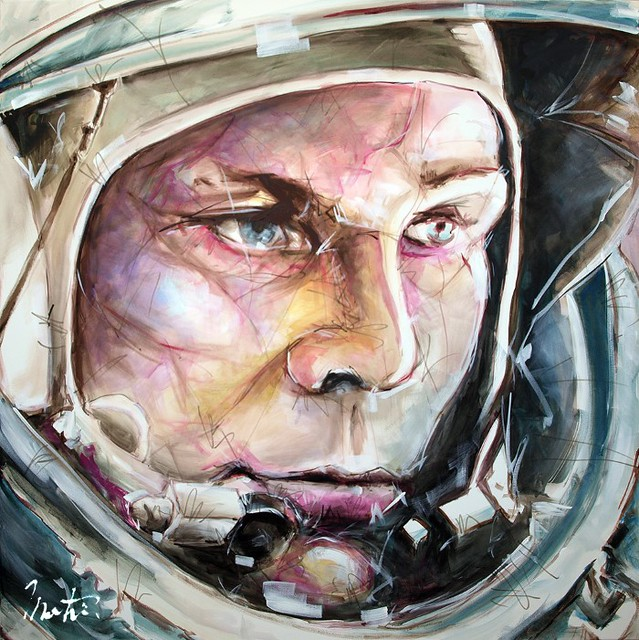 Мартин Фревиль. Возвращаясь во вселенную живописи.
