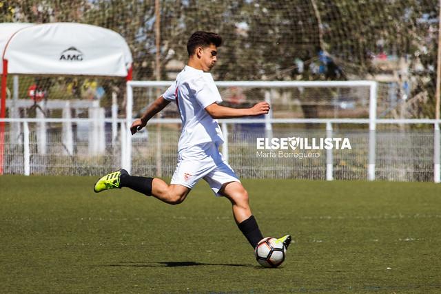 Sevilla FC 8-0 AD Cartaya (1ª Andaluza Cadete G.1
