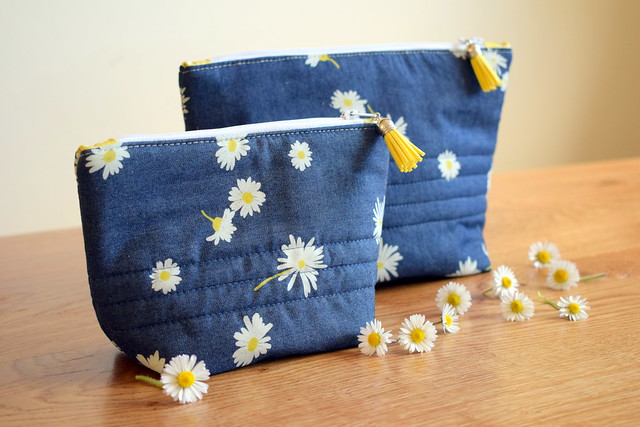 Easy Peasy Zippered Pouch Workshop