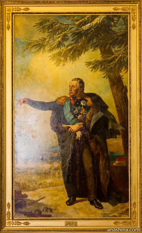 Портрет М.И.Кутузова