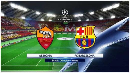 as roma vs barcelona 2018