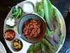 Hop the Wall Lettuce Wraps: B@TheMuseum, Kitchener