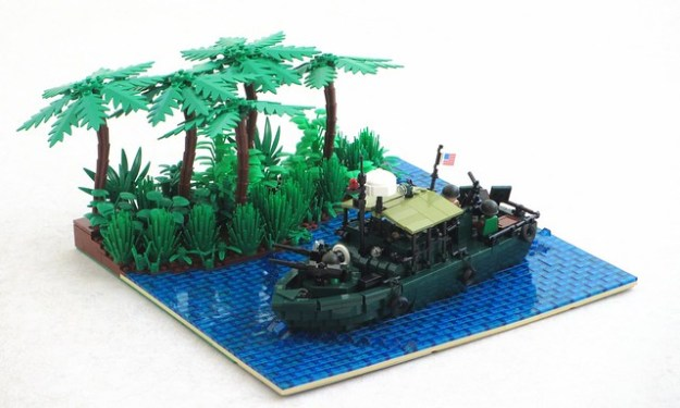 Vietnam War Patrol Boat Riverine