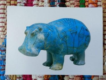 Hippopotamus, Egyptian Dynasty 12 ca. 1981-1885 BC