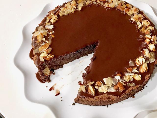 Chocolate Coconut Macaroon Cake - 34