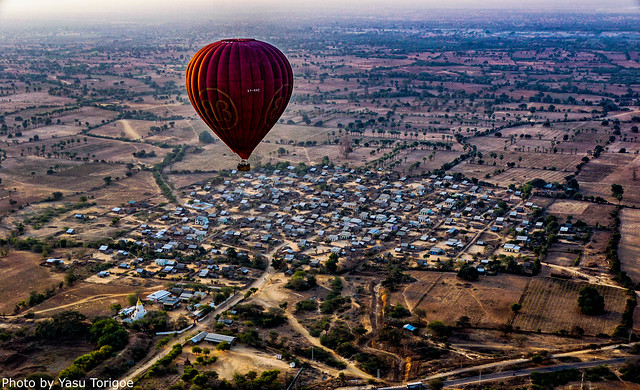 Balloons Over Bagan Myanmar-26aa