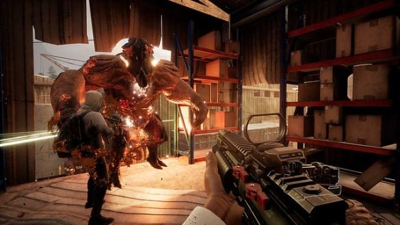 Earthfall - Boss Monster
