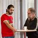 Wael Alkordi och Peter Landgren