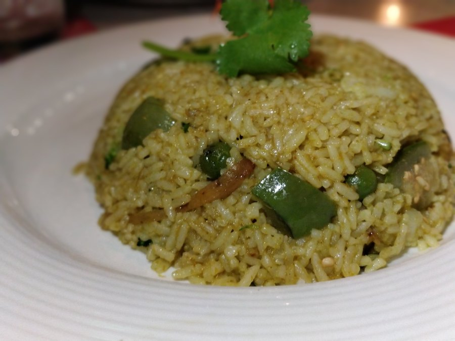 green curry fried rice ayuthaiya thai restaurant hong kong