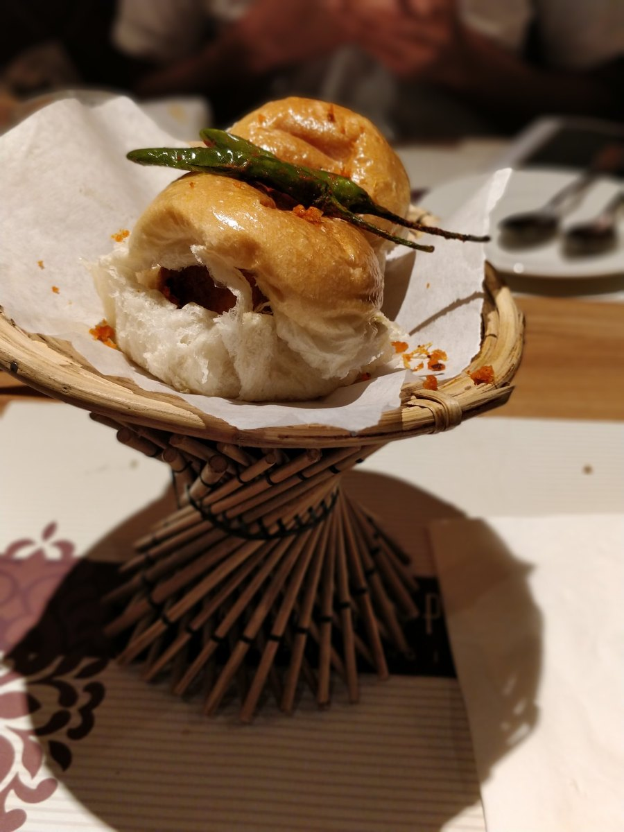 Kailash Parbat Indian Restaurant TST Hong Kong Vada Pav