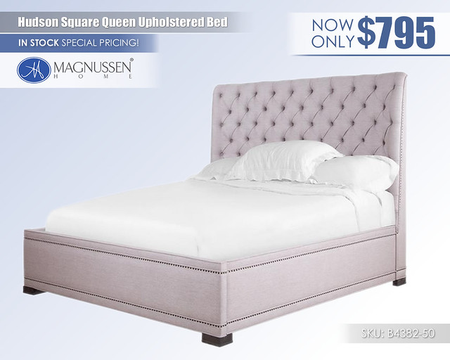 Hudson Square Upholstered Bed_B4382-50