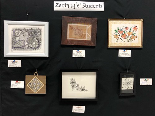 Zentangle Student Art Show 2018