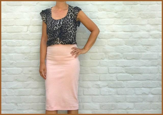 Kristy skirt in pink