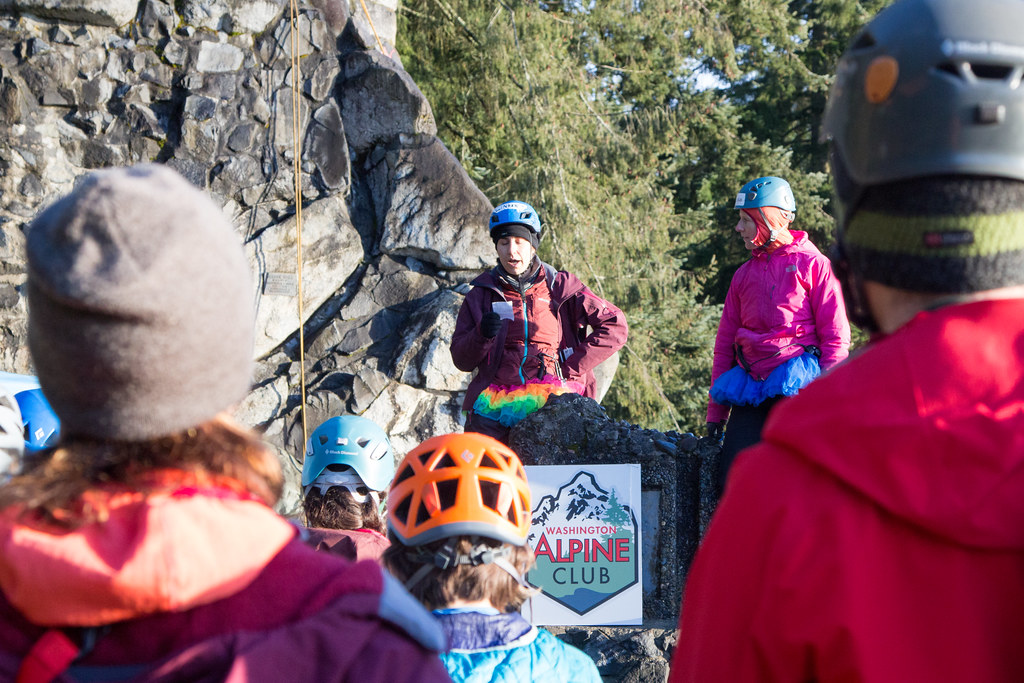 Washington Alpine Club - SPIRE Rock