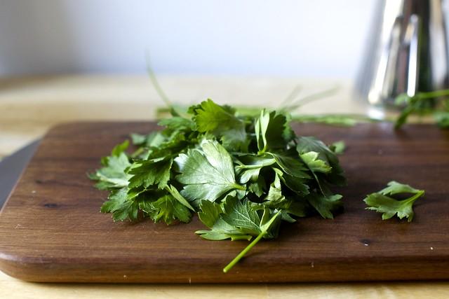 a good heap of parsley