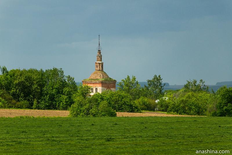 Церковь Космы и Дамиана в селе Семеновское-Советское, 1825 год