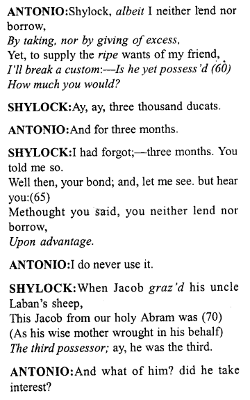 merchant-of-venice-act-1-scene-3-translation-meaning-annotations - 4