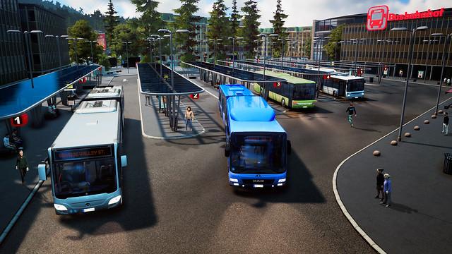 Autobusový simulátor 2018 - Autobusová stanice