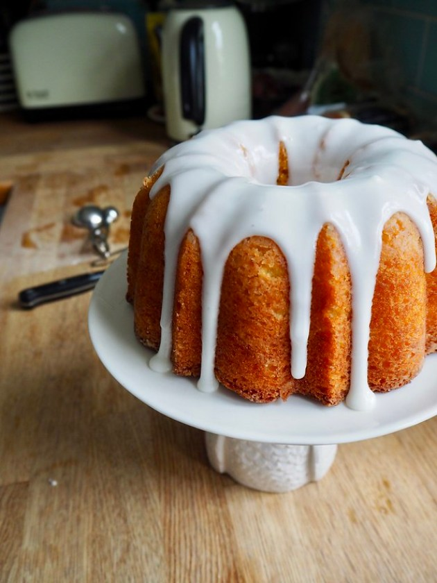 Orange & Lemon Polenta Bundt