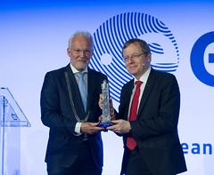 Jan Wörner, DG ESA and Jan Rijpstra, Mayor of Noordwijk