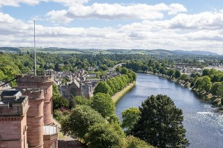 Things to do in Inverness - Castle Viewpoint
