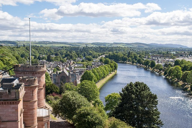 Stagecoach Whisky Trail - Elgin to Dufftown (Inverness Castle Viewpoint)