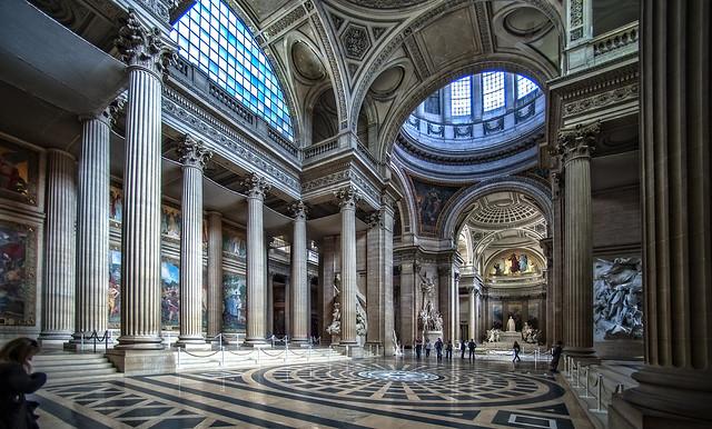 Panteon. Interior. Paris