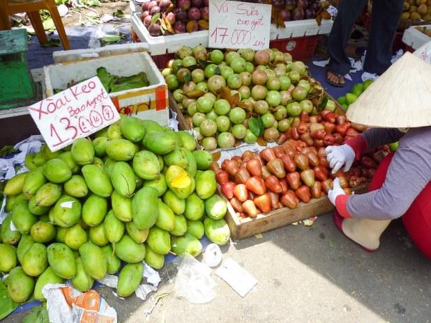 Mercado en Saigón
